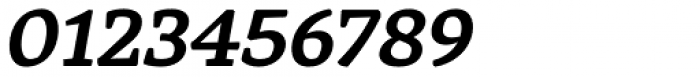 Rival Bold Italic Font OTHER CHARS