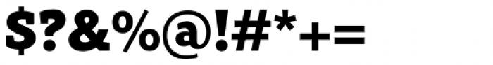 Rival Slab Black Font OTHER CHARS