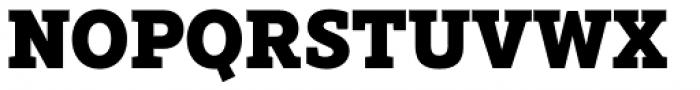 Rival Slab Black Font UPPERCASE
