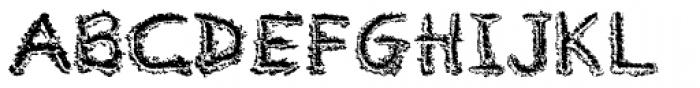 River City Sandwriting Font UPPERCASE