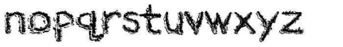 River City Sandwriting Font LOWERCASE