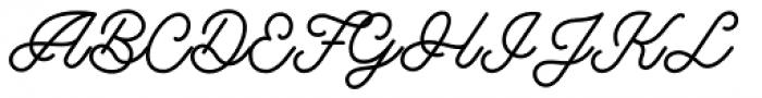Riverside Regular Font UPPERCASE