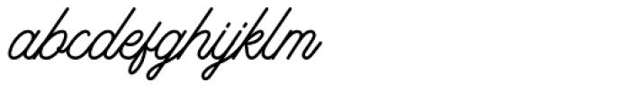 Riverside Regular Font LOWERCASE