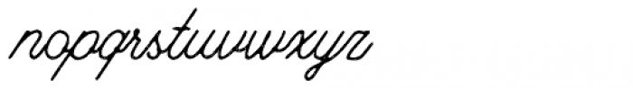 Riverside Stamp Font LOWERCASE
