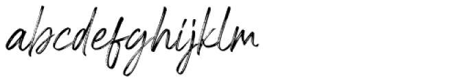 Riverstyle Regular Font LOWERCASE