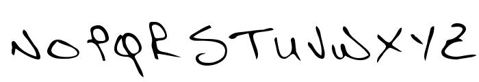Richard Regular Font UPPERCASE