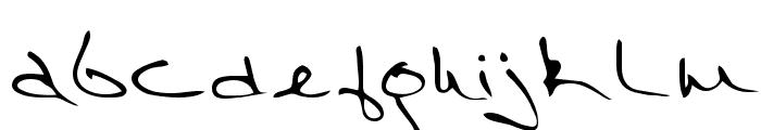 Richard Regular Font LOWERCASE