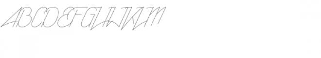 Rising Star Light Font UPPERCASE