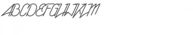 Rising Star Font UPPERCASE