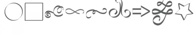 ribbon 2 dingbats font Font LOWERCASE