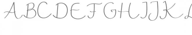 ribbon font Font UPPERCASE