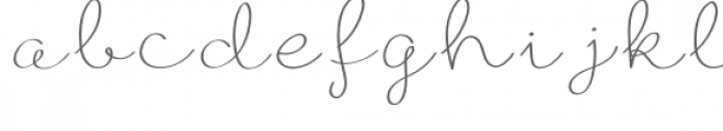 ribbon font Font LOWERCASE