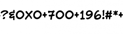 Richard Starkings Regular Font OTHER CHARS