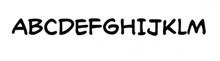Richard Starkings Regular Font UPPERCASE