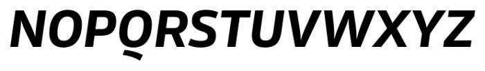 Rleud Bold Italic Font UPPERCASE