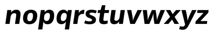 Rleud Bold Italic Font LOWERCASE