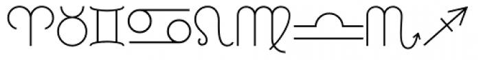 RLG Astro Light Font UPPERCASE