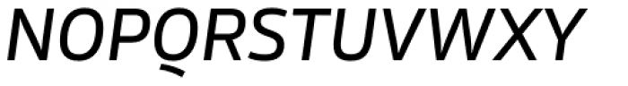 Rleud Medium Italic Font UPPERCASE