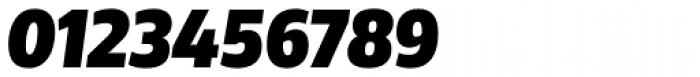 Rleud Narrow Black Italic Font OTHER CHARS