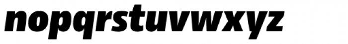 Rleud Narrow Black Italic Font LOWERCASE
