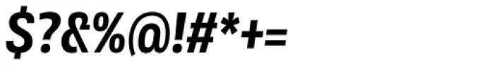 Rleud Narrow Bold Italic Font OTHER CHARS