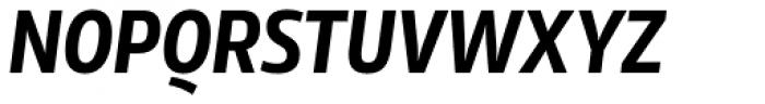 Rleud Narrow Bold Italic Font UPPERCASE