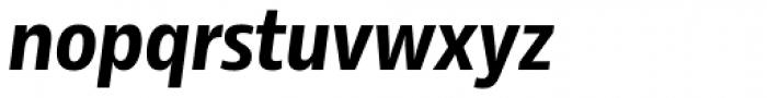 Rleud Narrow Bold Italic Font LOWERCASE