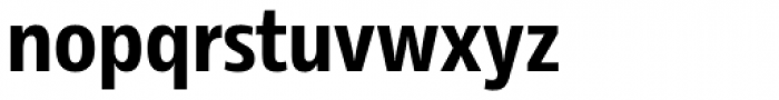 Rleud Narrow Bold Font LOWERCASE