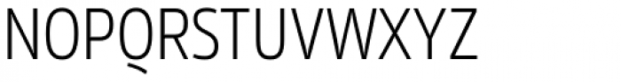 Rleud Narrow Light Font UPPERCASE