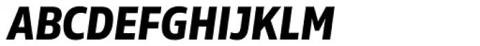 Rleud Narrow SC Bold Italic Font LOWERCASE