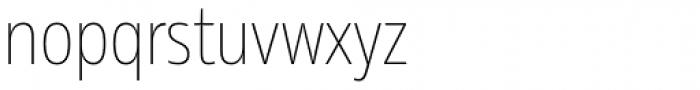 Rleud Narrow Thin Font LOWERCASE