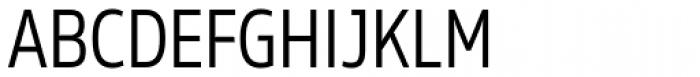 Rleud Narrow Font UPPERCASE