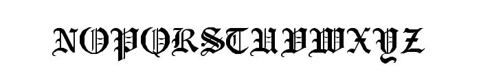 RM Albion Regular Font UPPERCASE