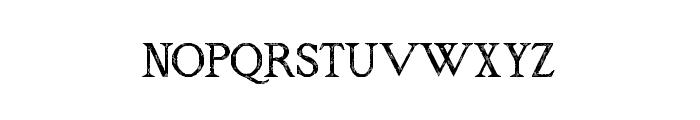 RM Almanack old Regular Font UPPERCASE