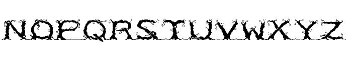RM Entrees Regular Font UPPERCASE