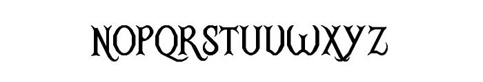 RM Ginger Regular Font LOWERCASE