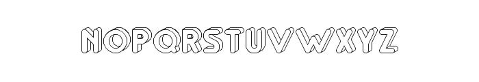 RM Playtime 3D Regular Font UPPERCASE