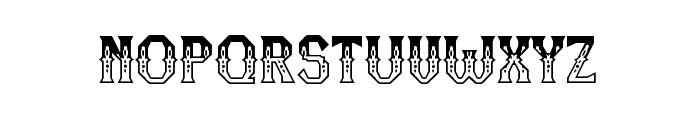 RM Serifancy Regular Font UPPERCASE