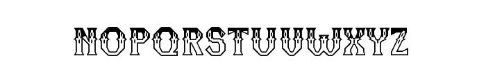 RM Serifancy Regular Font LOWERCASE