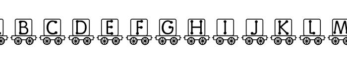 RMBlock Font UPPERCASE