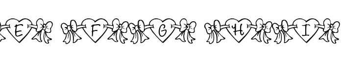RMBowhrt Font UPPERCASE