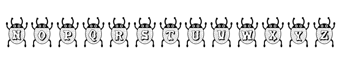 RMBuggy Font UPPERCASE