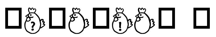 RMChicky Font OTHER CHARS