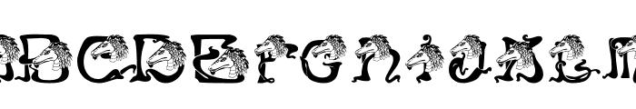 RMDragon Font UPPERCASE