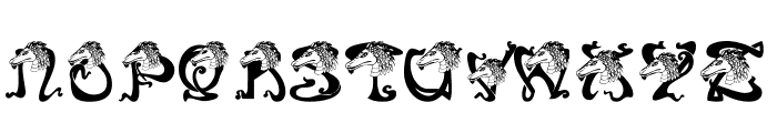 RMDragon Font LOWERCASE