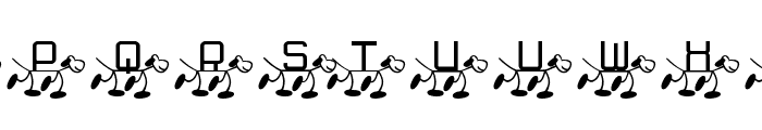 RMFido Font UPPERCASE