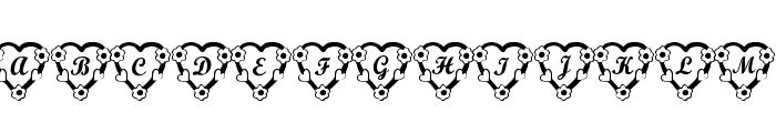 RMFlwrHt Font UPPERCASE