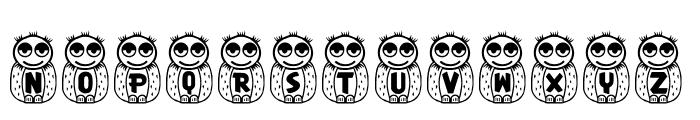 RMOwl Font UPPERCASE