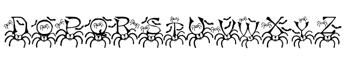 RMSpider2 Font UPPERCASE