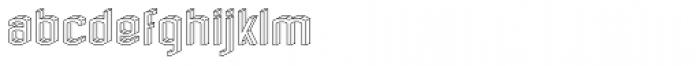 RM Alphabox Font LOWERCASE